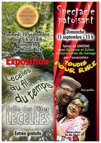 """Spectacle Patoisant et Exposition """"Lecelles au fil du temps"""""""