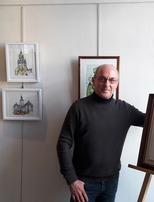 """Exposition """"D'eau et de Terre"""" de Patrick DUBUISSON, sculptures et aquarelles"""