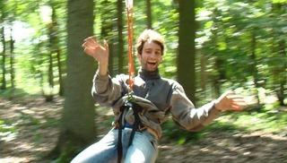 Parcours Aventure en forêt - Raismes