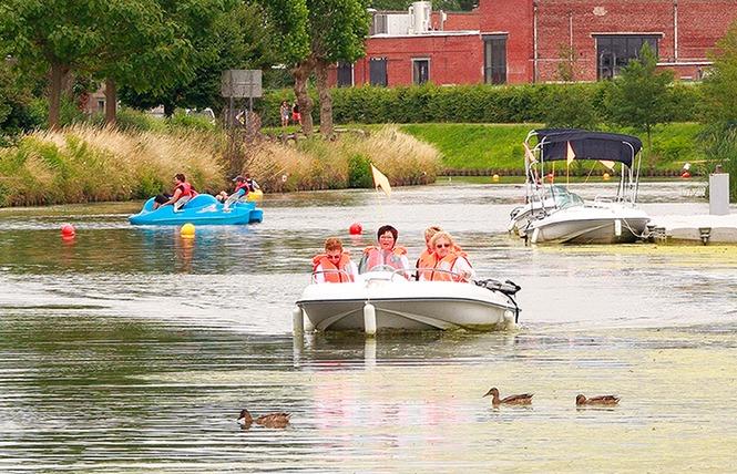 Activités au Port fluvial 3 - Saint-Amand-les-Eaux