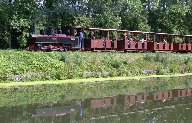 Train touristique de la Vallée de la Scarpe 2 - Saint-Amand-les-Eaux